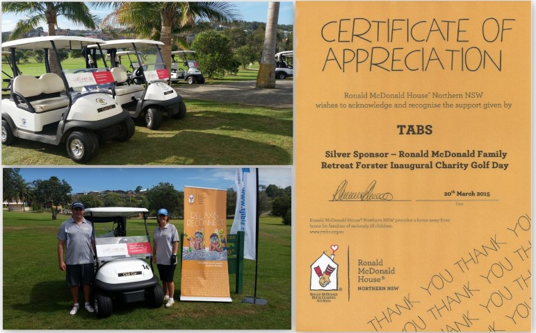 Charity Golf Day Sponsor